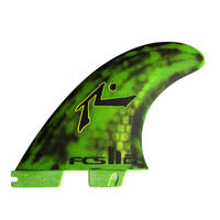 FCS II RP PC MEDIUM TRI-QUAD FINS